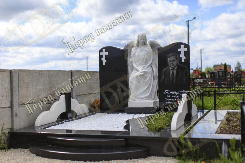 Памятник с ангелом Семикаракорск памятники на могилу сергиев посад отзывы